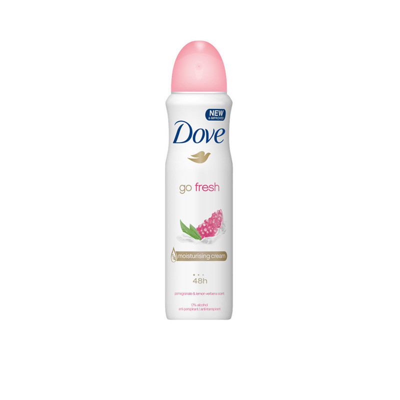 Dove Imported Go Fresh Pomegranate & Lemon Verbena Antiperspirant Deodorant Spray (150ml)