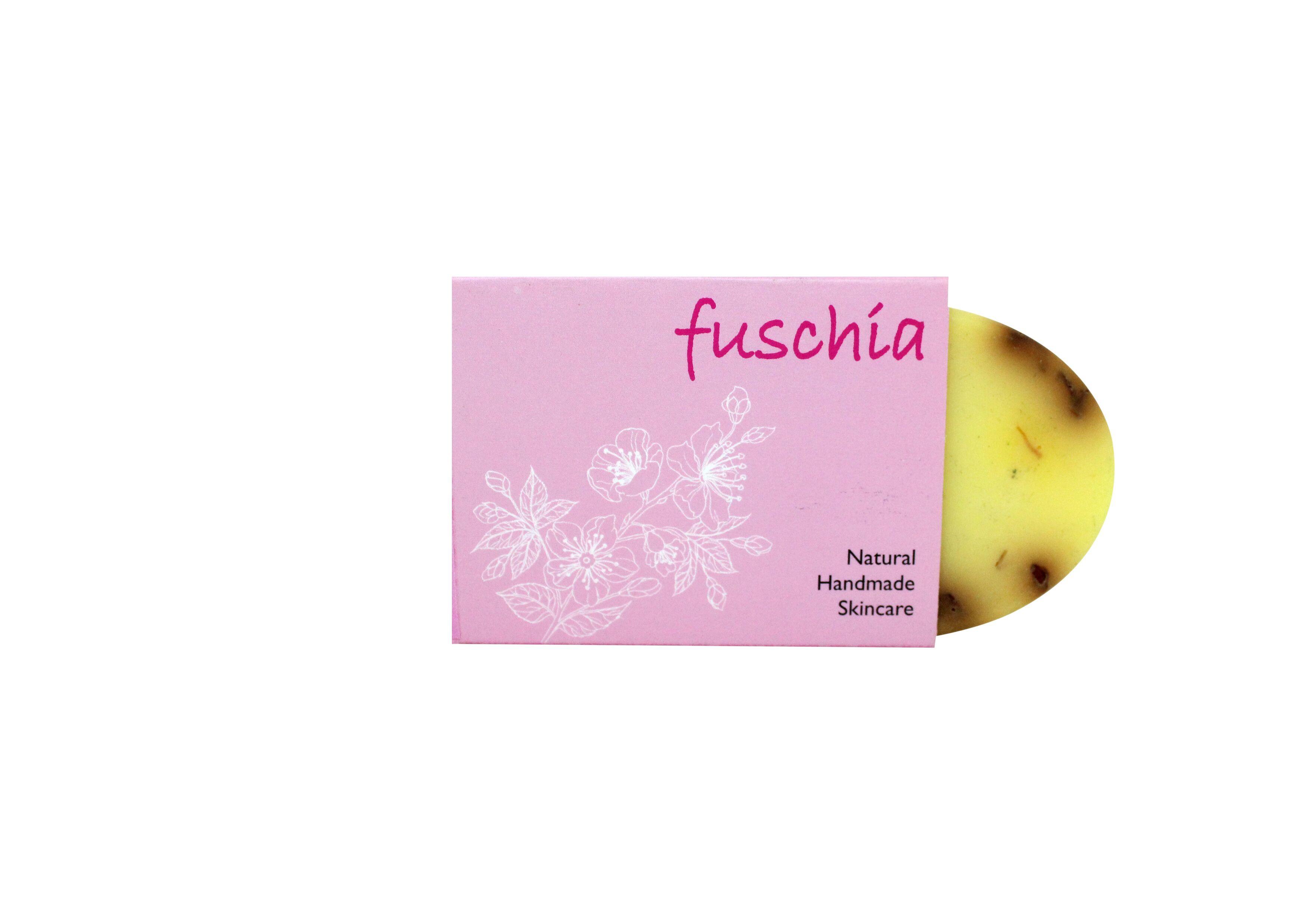 Fuschia - Papaya Detan Natural Handmade Herbal Soap 100gm