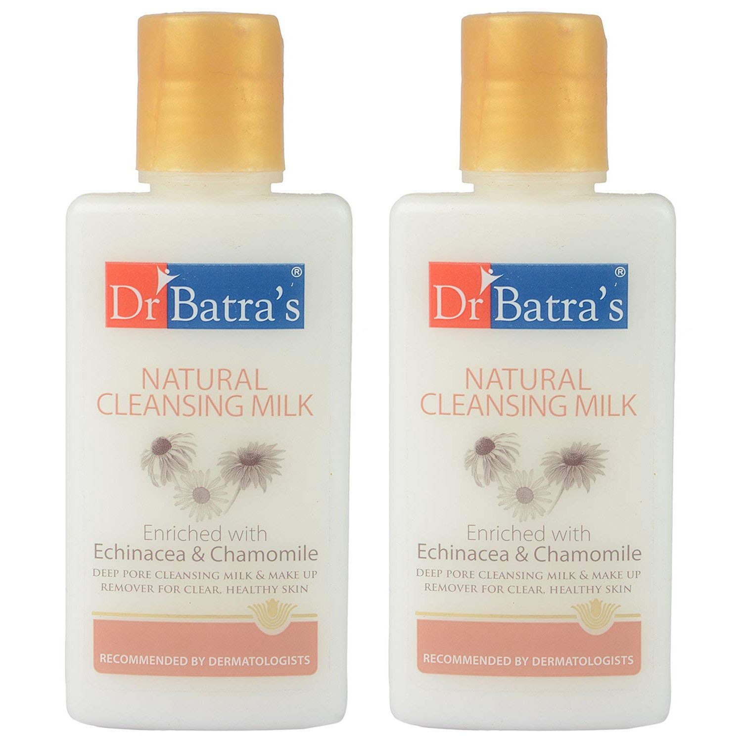 Dr Batras Natural Cleansing Milk, 100ml (Pack OF 2)