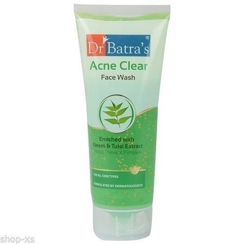 Dr Batras Acne Clear Face Wash, 200g