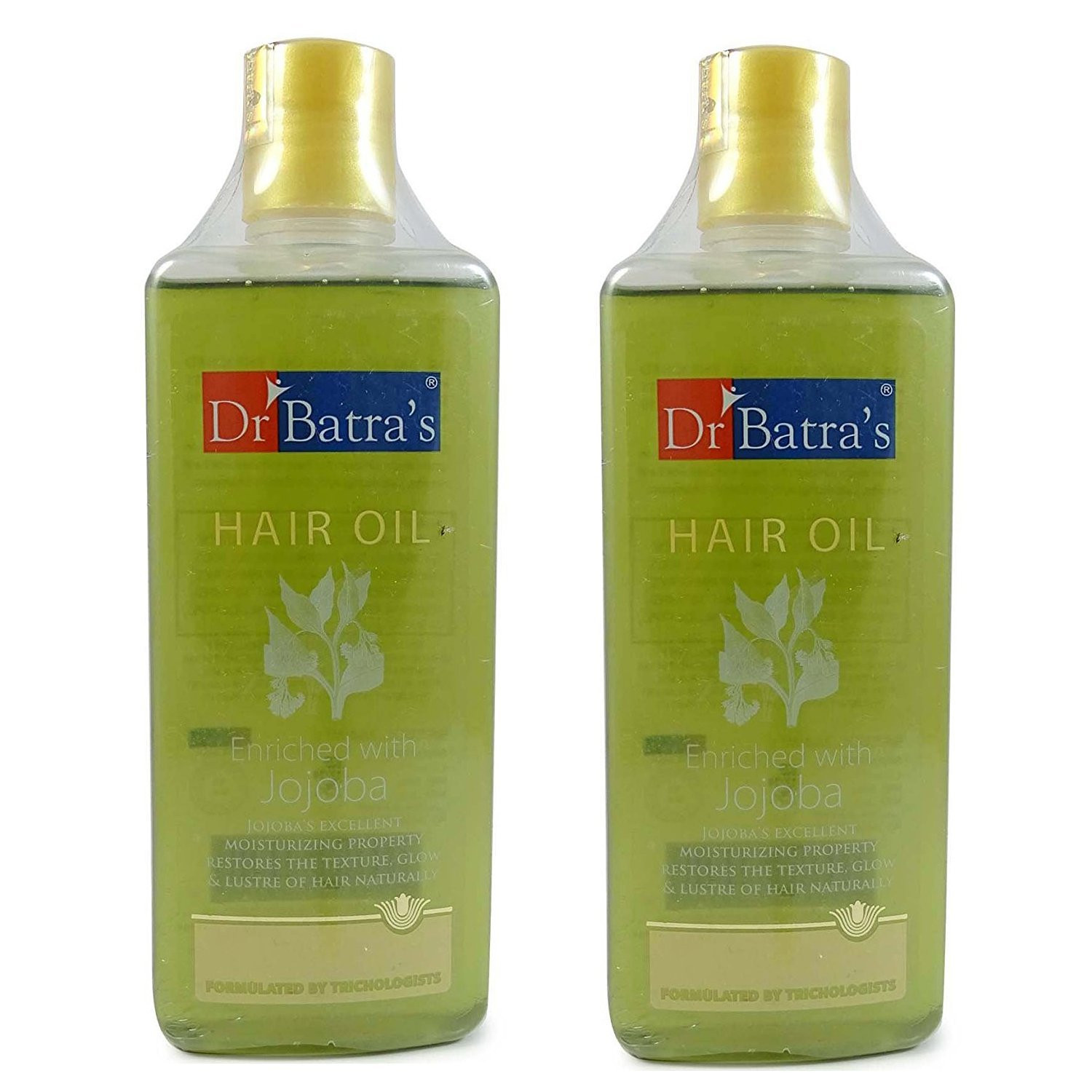 Dr Batras Enriched with Jojoba Hair Oil, 200ml Set Of 2