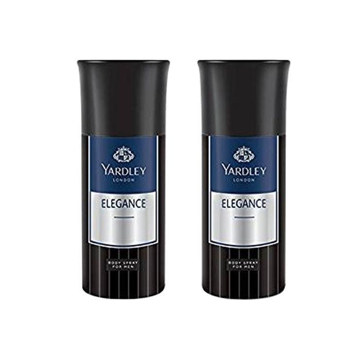 Yardley London Elegance  Deodorant For Men (150 ml) Pack of 2