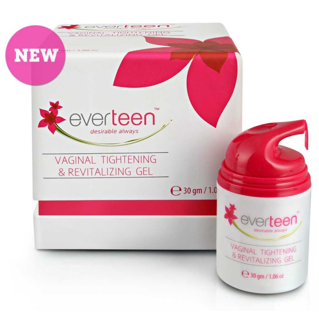 everteen® Vaginal Tightening & Revitalising Gel for Women - 1 Pack (30gm)
