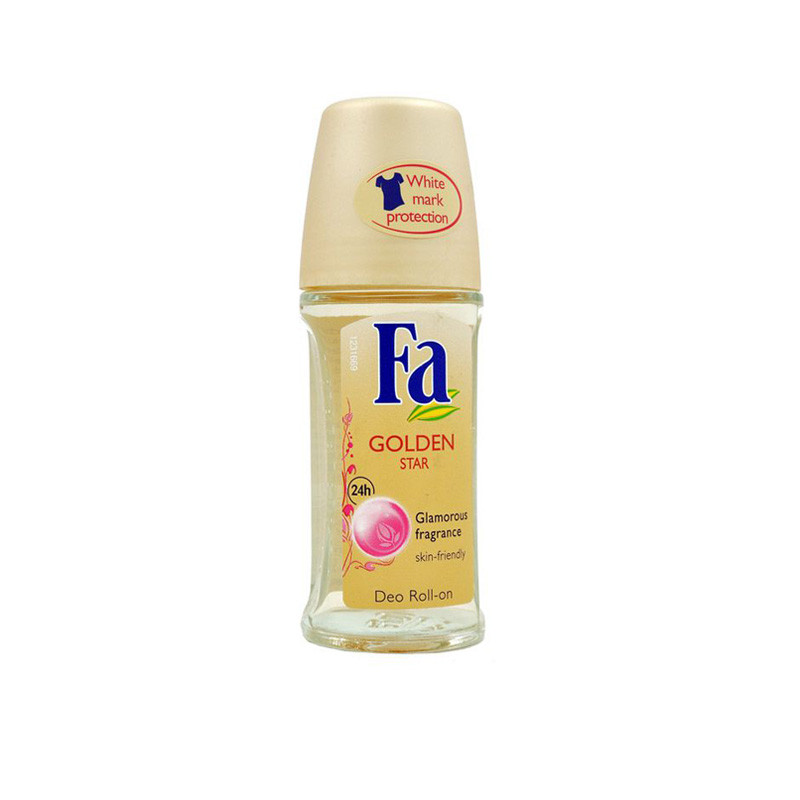 Fa Imported Golden Star Deodorant Roll-on - For Women  (50 ml)