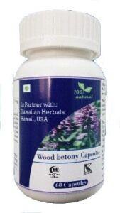 Hawaiian herbal wood betony capsule