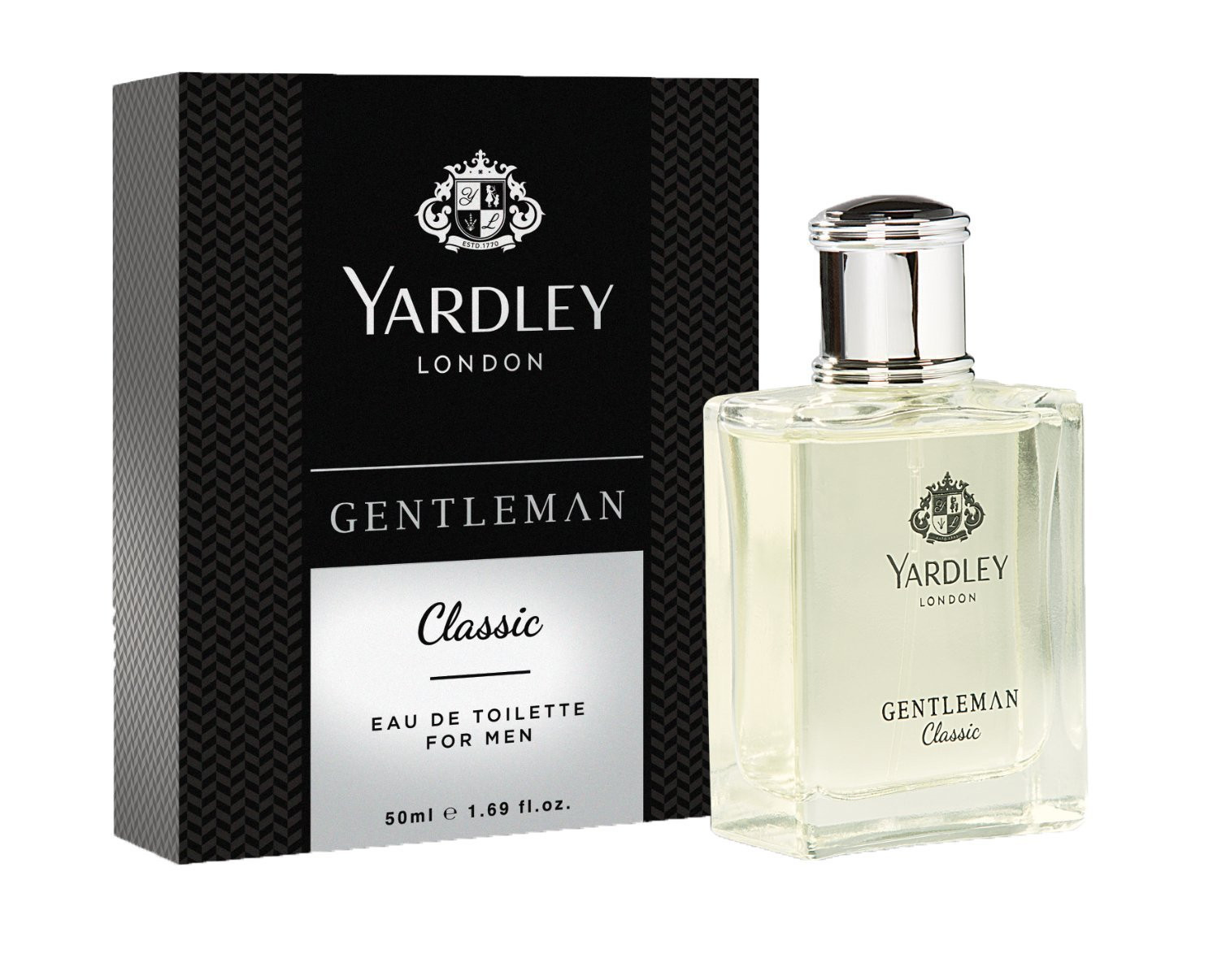 Yardley London Gentleman Classic Eau de Toilette for Men- 50 ml