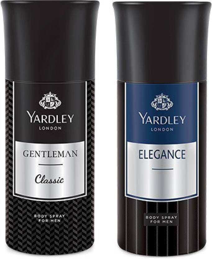 Yardley Gentleman And Elegance Deo (Pack Of 2) 150ml Each