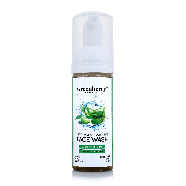 Greenberry Organics Anti-Acne Foaming Face Wash