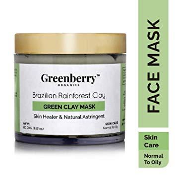 Greenberry Organics Brazilian Rainforest Green Clay Mask