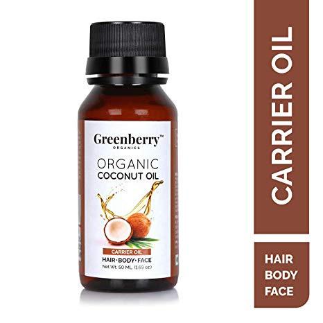 Greenberry Organics Organic Coconut Oil - 50 ML
