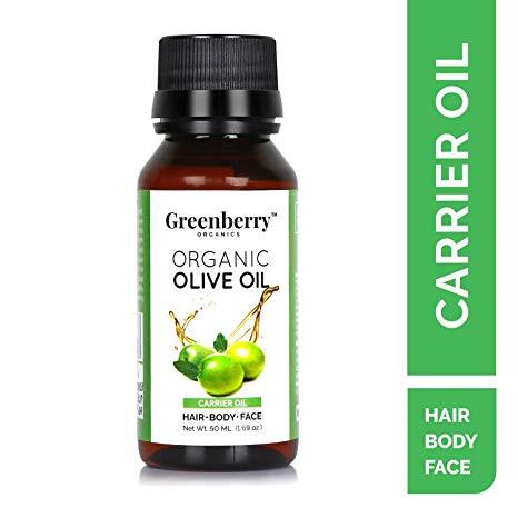 Greenberry Organics Organic Olive Oil - 50 ML