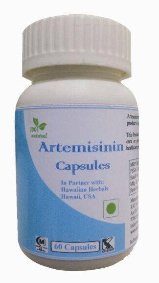 Hawaiian herbal artemisinin capsule