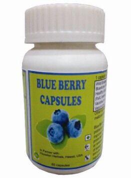 Hawaiian herbal blue berry capsule
