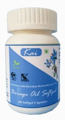 Hawaiian herbal borage oil softgels