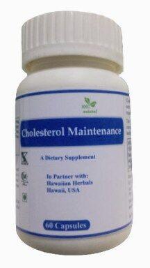 Hawaiian herbal cholesterol maintenance capsule