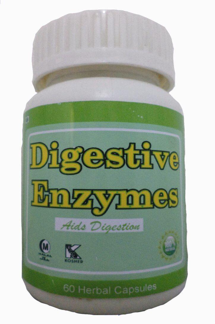 Hawaiian herbal digestive enzymes capsule