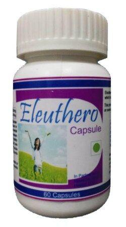 Hawaiian herbal eleuthero capsule