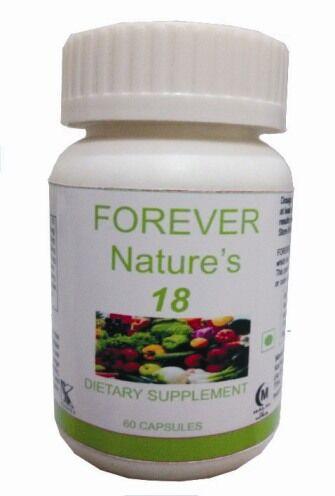 Hawaiian herbal forever nature's 18 capsule