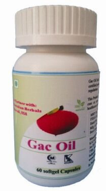 Hawaiian herbal gac oil softgel capsule
