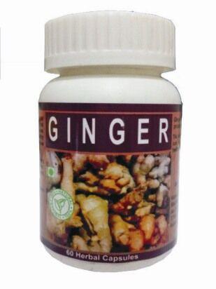 Hawaiian herbal ginger capsule