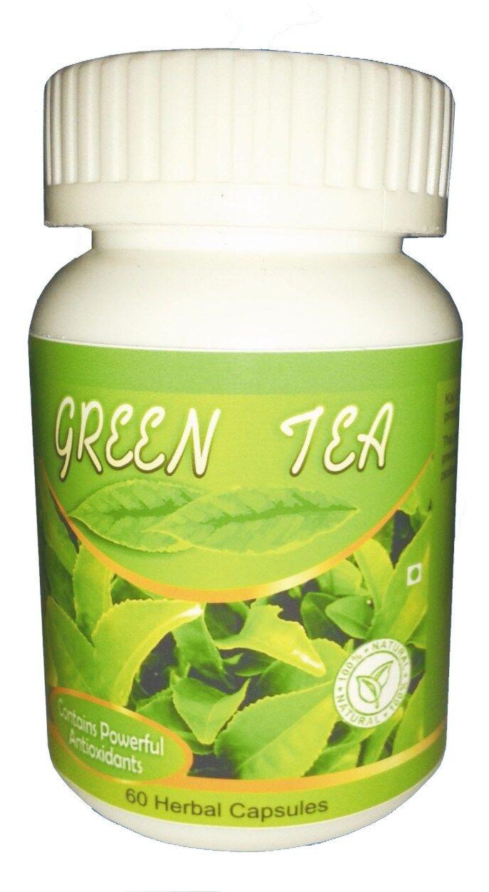 Hawaiian herbal green tea capsule