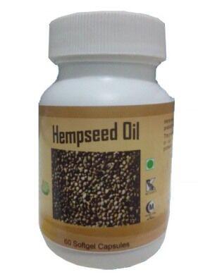 Hawaiian herbal hempseed oil capsule