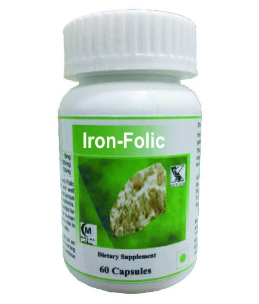 Hawaiian herbal iron folic capsule