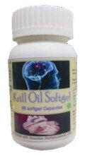 Hawaiian herbal krill oil softgels