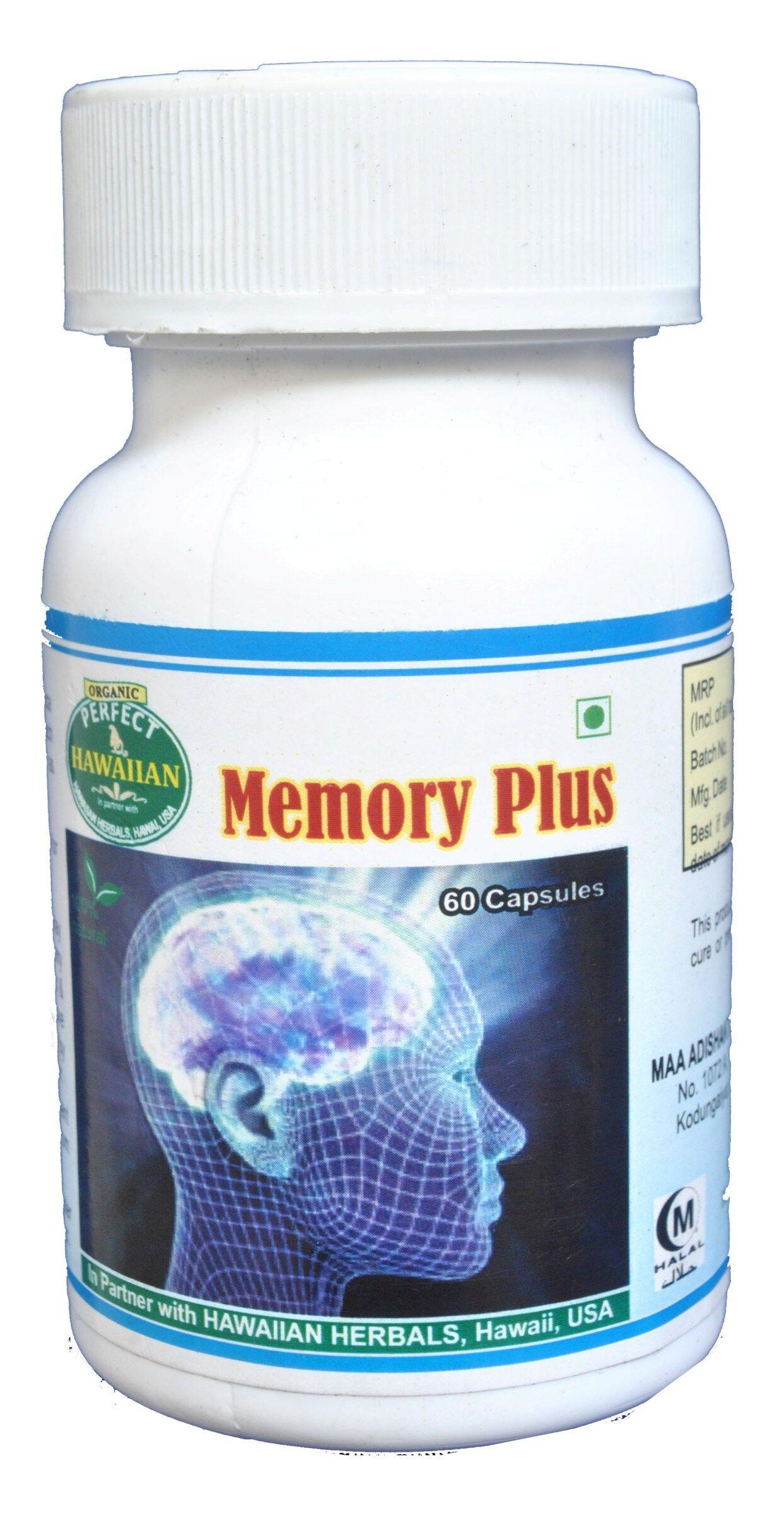 Hawaiian herbal memory plus capsule