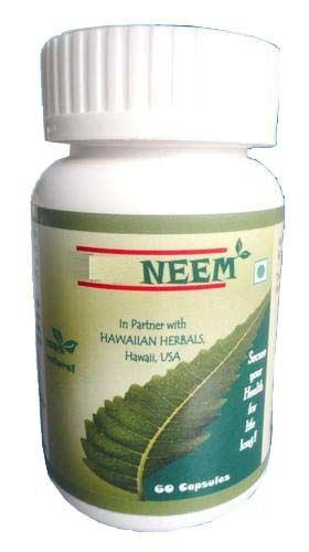 Hawaiian herbal neem capsule