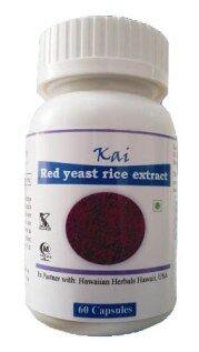 Hawaiian herbal red yeast rice extract capsule