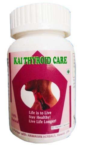 Hawaiian herbal thyroid care capsule
