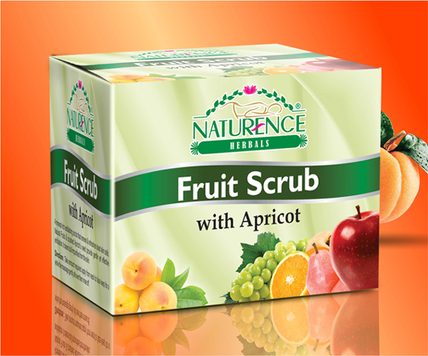 Naturence Herbals Fruit Scrub with Apricot (100g)