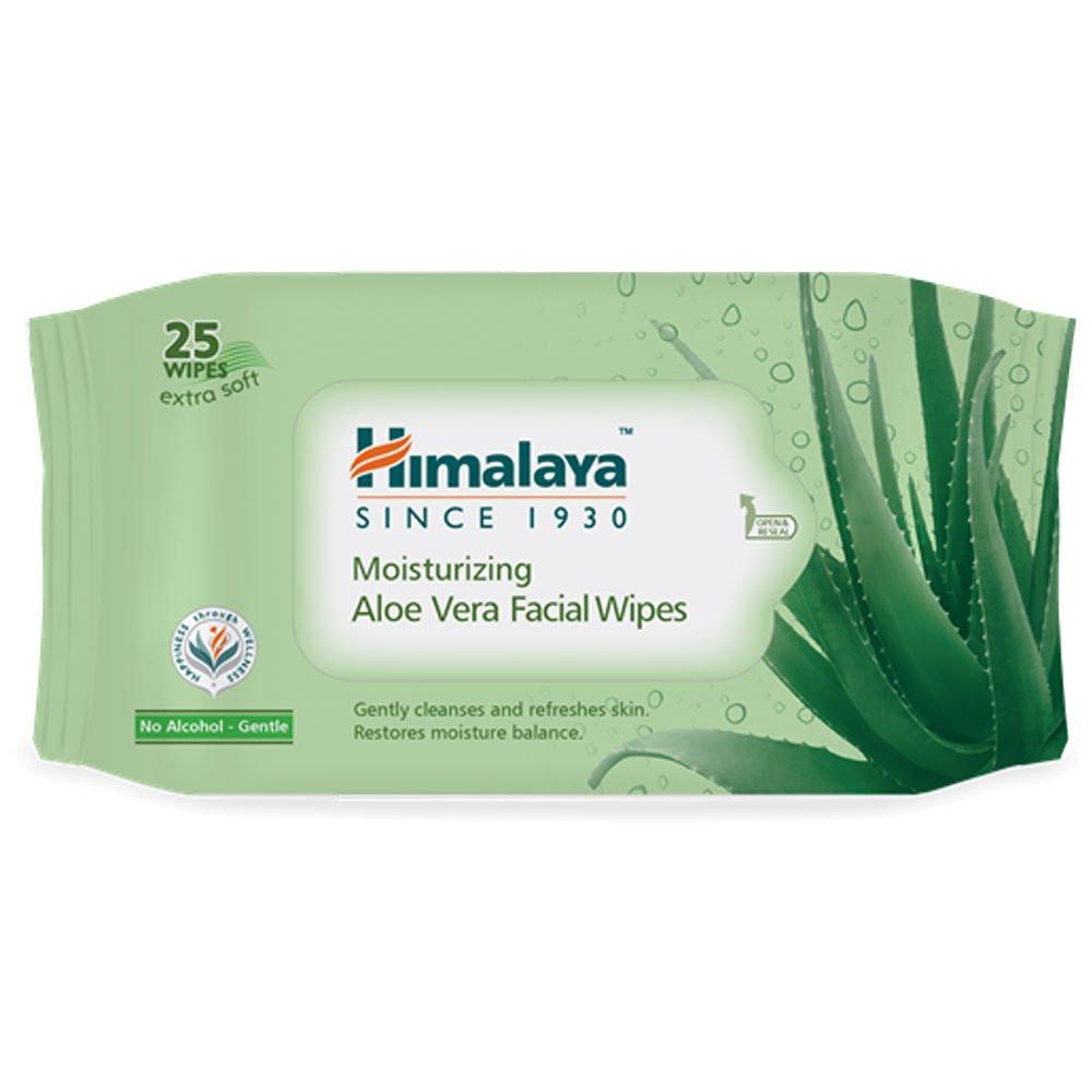 Himalaya Moisturzing Aloe Vera Facial Wipes (25)