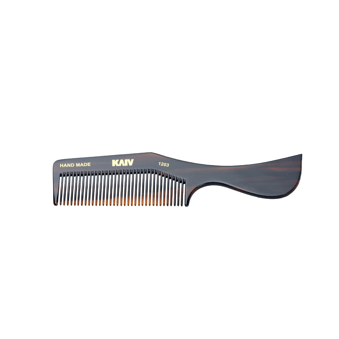 Kaiv Handmade Grooming Comb with Curve Style Handle