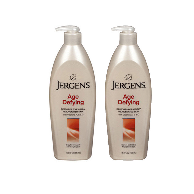 Jergens Imported Age Defying Multi Vitamin Moisturizer 496ml-Pack of 2