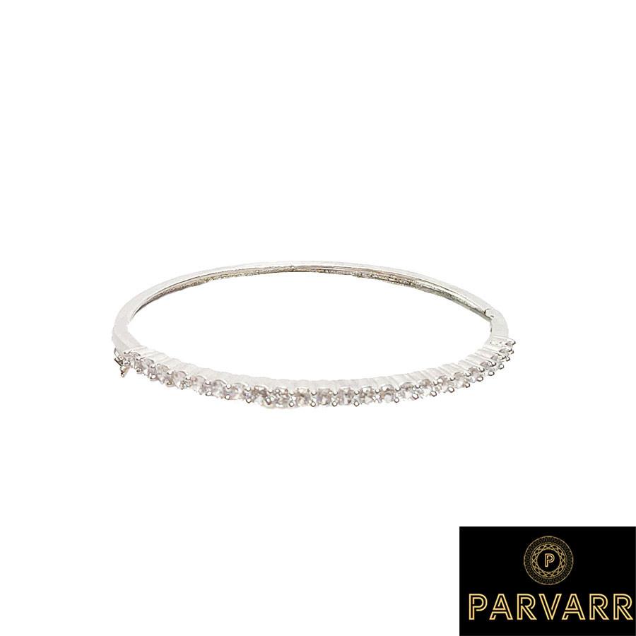 Parvarr American Diamond Sleek bracelet for Women
