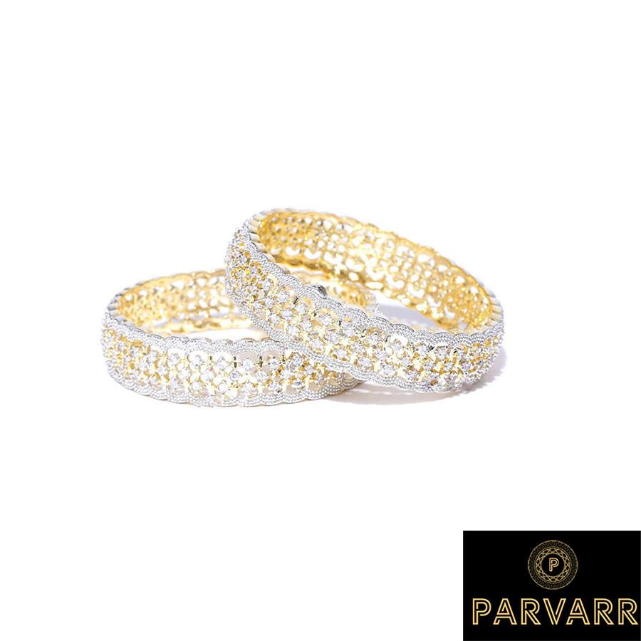 Parvarr American Diamond Bangles