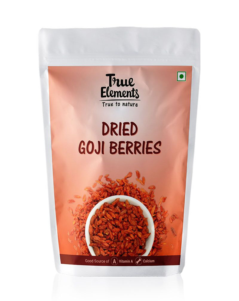 True Elements Dried Goji Berries 500gm