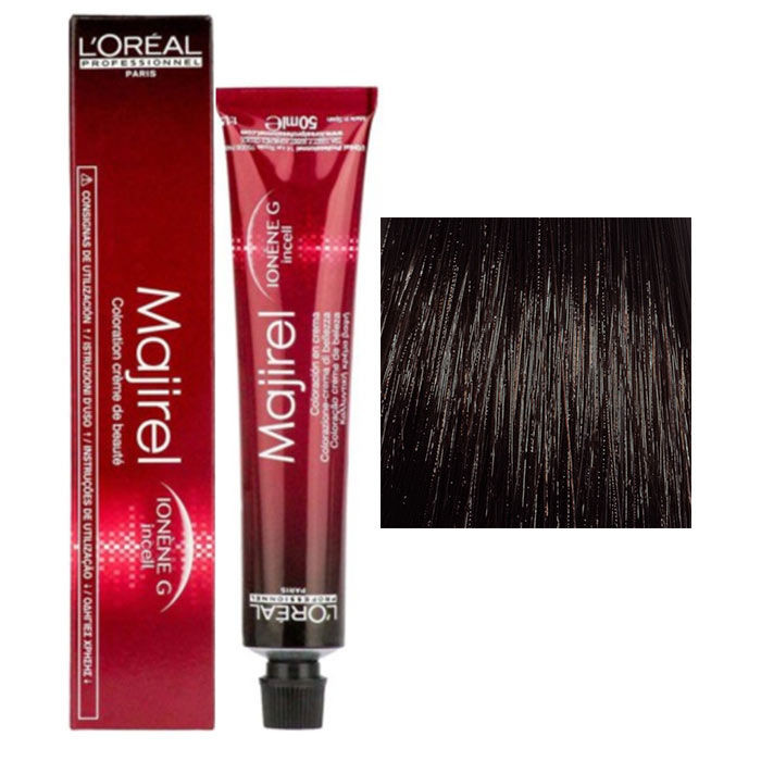 Loreal Professionnel Majirel No. 8.3 Dark Brown 50Ml