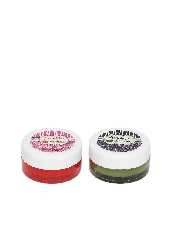 Fuschia – Strawberry & Black currant Lip Balm Combo 16gm