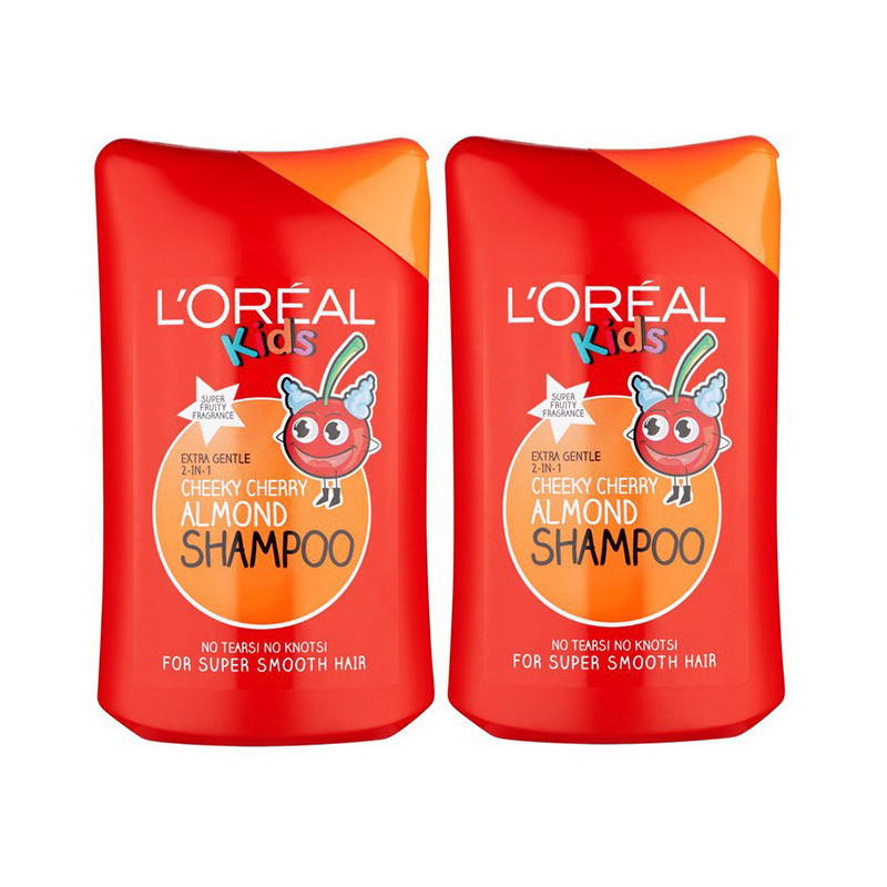 Buy L Oreal Kids Imported Cheeky Cheery Almond Shampoo 250ml Combo Online At Best Price Hecmo Com