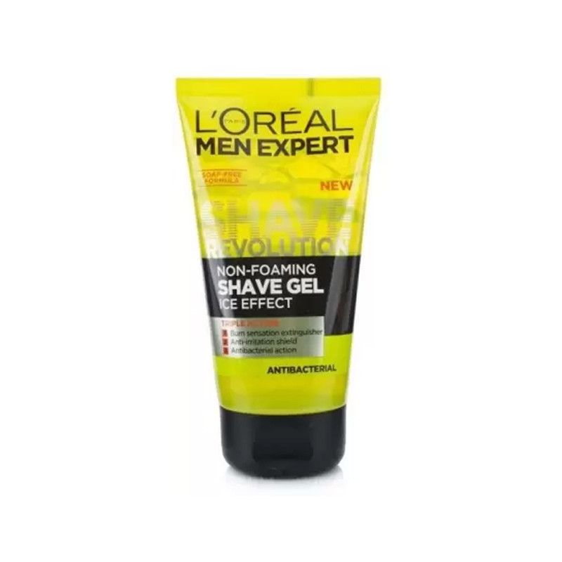 L'Oreal Paris Men Expert Antibacterial Shave Gel  (150 ml)