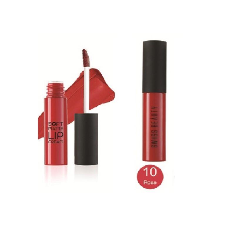Swiss Beauty Matte Lip Cream Red