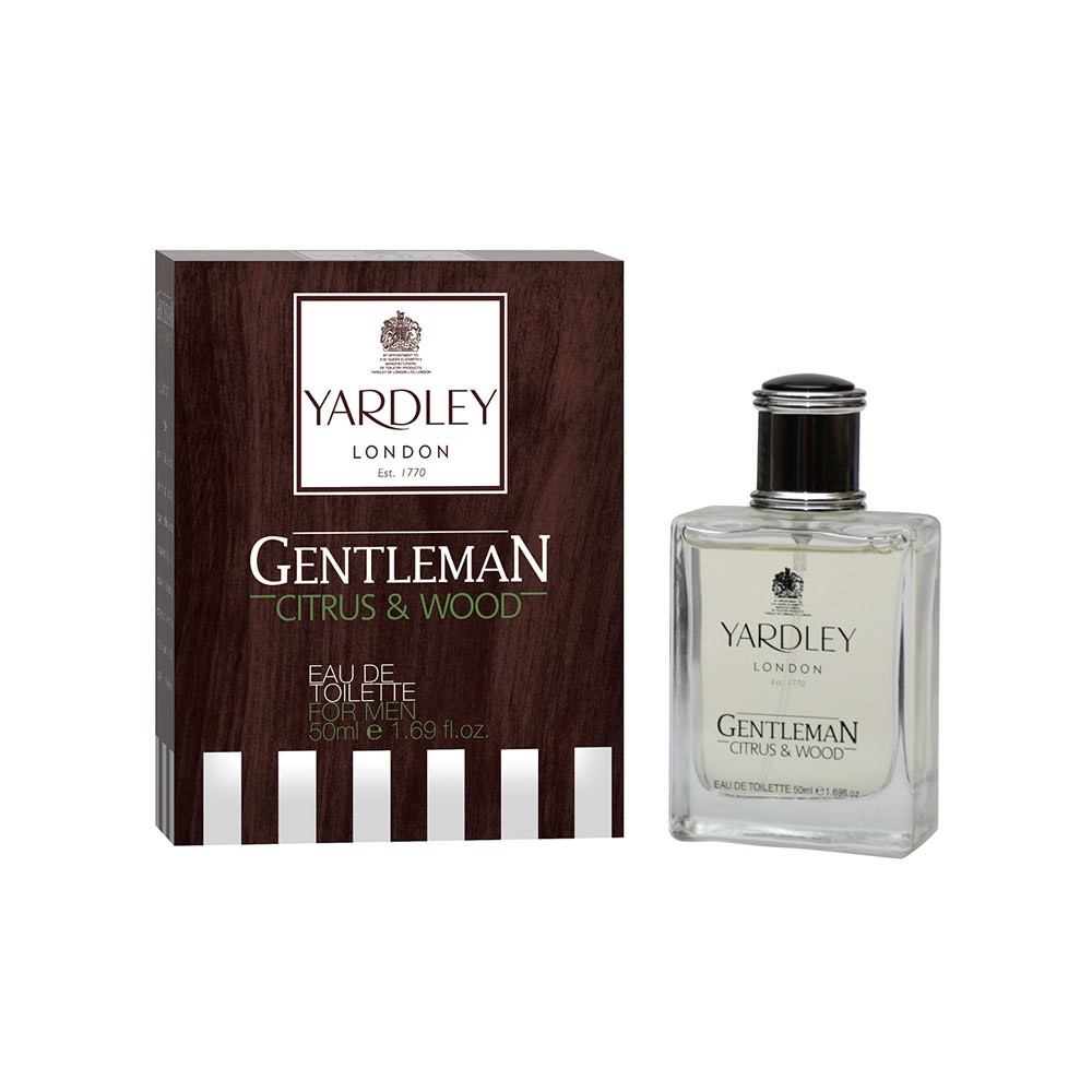 Yardley London Gentleman Citrus & Wood Eau de Toilette for Men- 50 ml