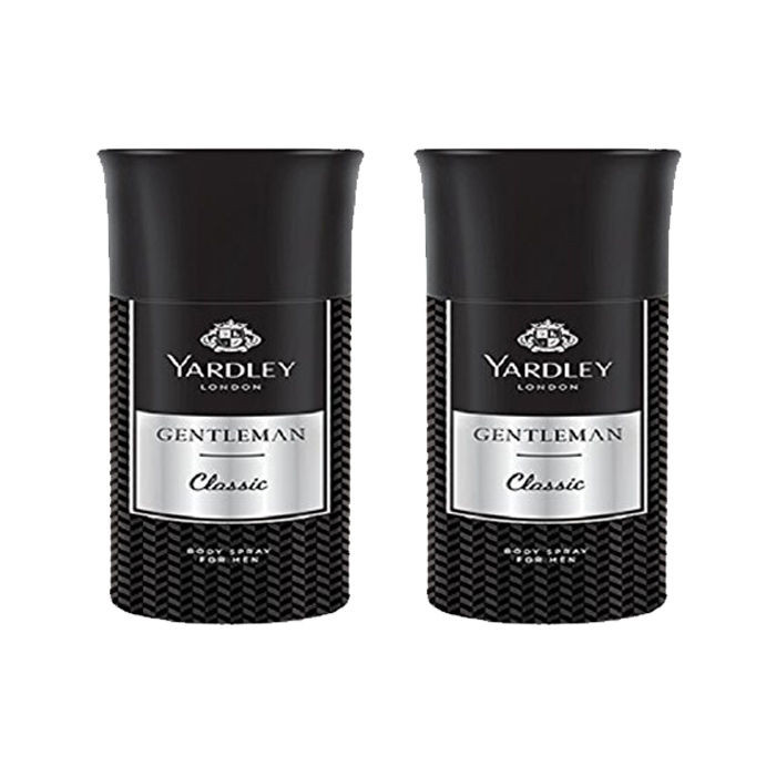 Yardley London Gentleman Deodorant (150 ml) Pack of 2