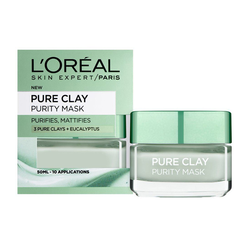 L'Oreal Paris Pure Clay Mask-(50Ml)