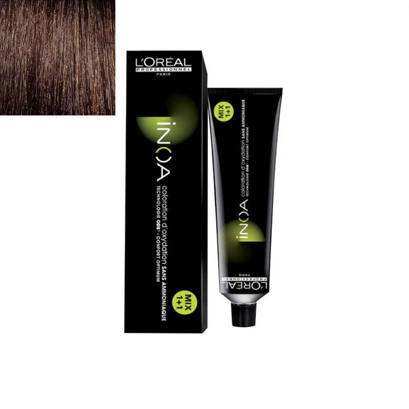 L'Oreal Professionnel Inoa Hair Colour No 4 Brown 60 G