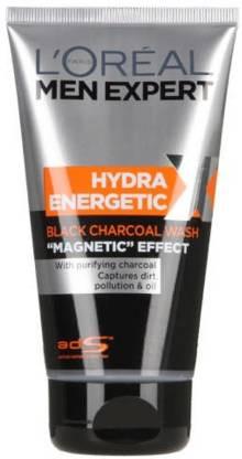 L'Oreal Paris Men expert hydra energetic black charcoal magnetic effect Face Wash(149 ml)