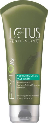 Lotus Professional Phyto-Rx Nourishing Cream Face Wash,80g